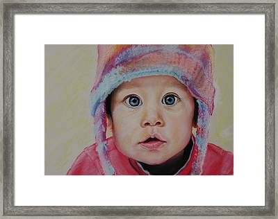 Faith Framed Print by Gayle  George