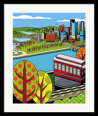 Parks Digital Art Framed Prints