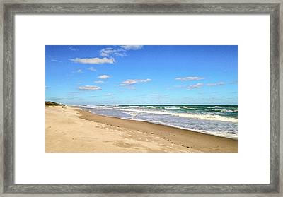 Fall Paradise 9 Framed Print by Anne Niday