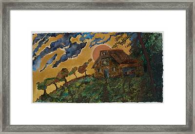 Fall Retreat Framed Print by Ione Citrin