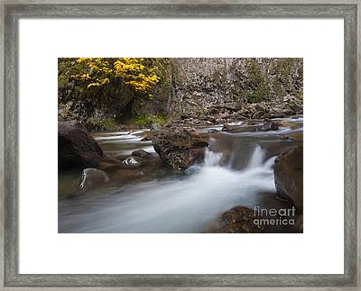 Fall Surge Framed Print