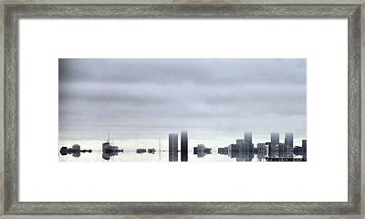 Fallen City Framed Print by Jonathan Ellis Keys