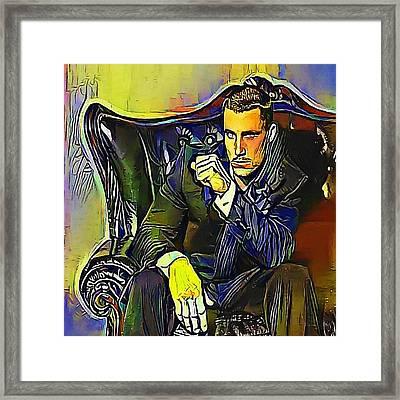Greg Plitt  - My Www Vikinek-art.com Framed Print by Viktor Lebeda