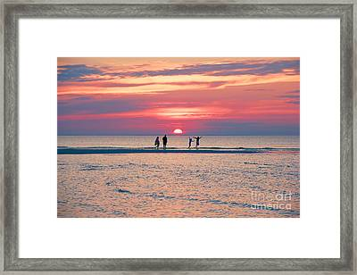 Family Framed Print by Amazing Jules