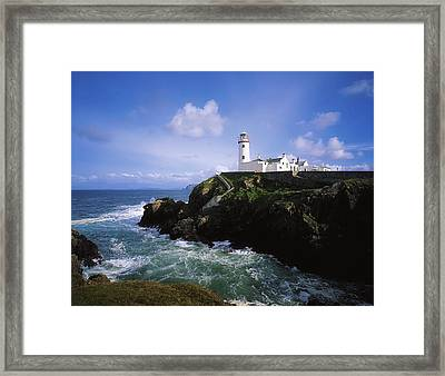 Fanad Lighthouse, Co Donegal, Ireland Framed Print