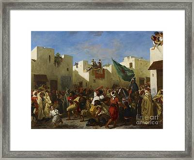 Fanatics Of Tangier Framed Print by MotionAge Designs