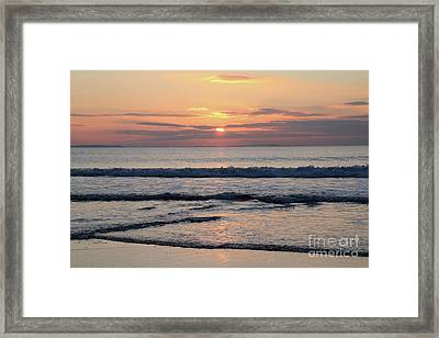 Fanore Sunset 2 Framed Print