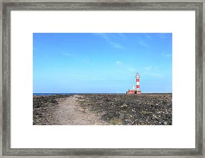 Faro El Cotillo - Fuerteventura Framed Print by Joana Kruse