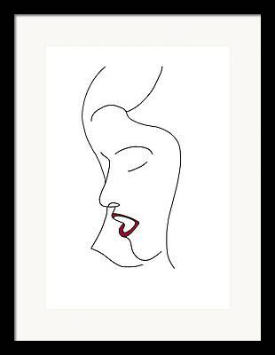 Simplicity Drawings Framed Prints