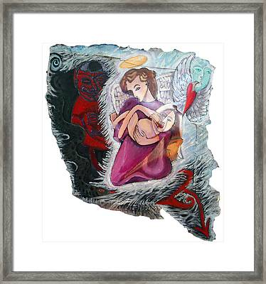 Father Of Light Framed Print