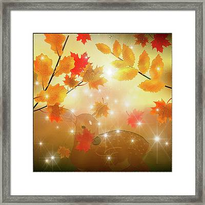 Fawn Framed Print by Harald Dastis