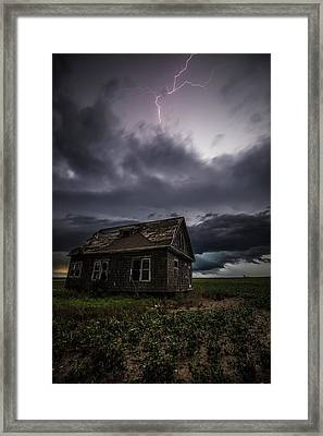 Framed Print featuring the photograph Fear by Aaron J Groen