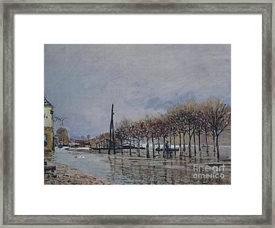 Fete Day At Marly Framed Print