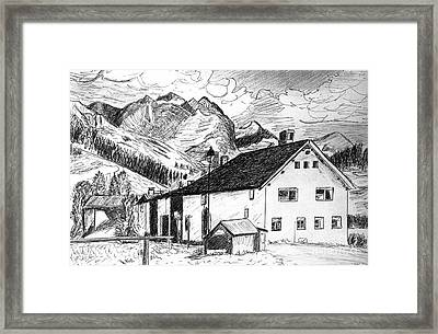 Fextal Switzerland Framed Print by Monica Engeler