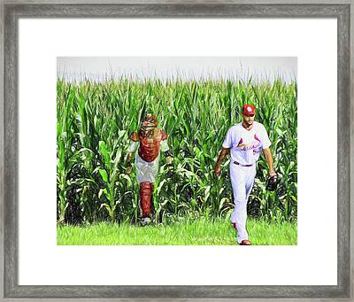 Field To Field Framed Print