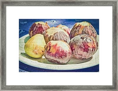 Figs Framed Print by Tom Gowanlock