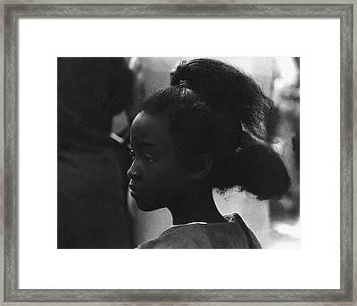 Film Homage Oscar Micheaux And Paul Robeson Body And Soul 1925 O'odham Tash Casa Grande Arizona '69 Framed Print by David Lee Guss