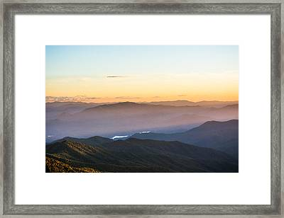 Filtering Light Framed Print by Shelby Young