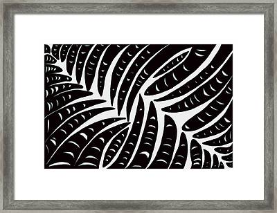 Fingers Framed Print by Christopher Rowlands
