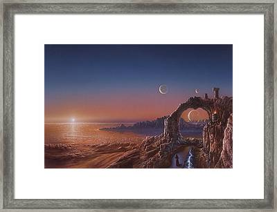 Fire Sanctuary Framed Print