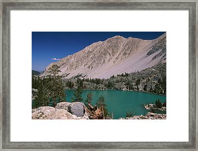 First Lake Framed Print by Soli Deo Gloria Wilderness And Wildlife Photography