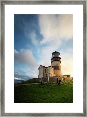 Framed Print featuring the photograph First Light by Ryan Manuel
