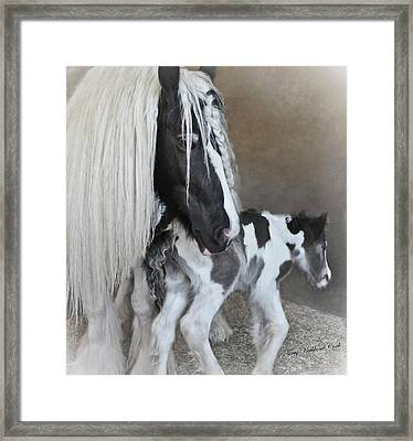 First Moments Framed Print