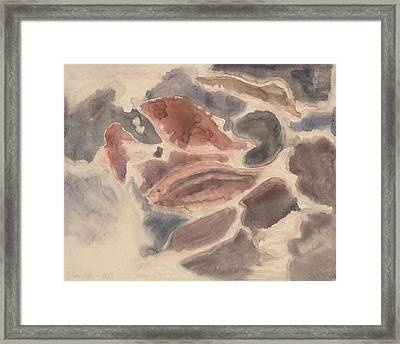 Fish Series, No. 2 Framed Print by Charles Demuth