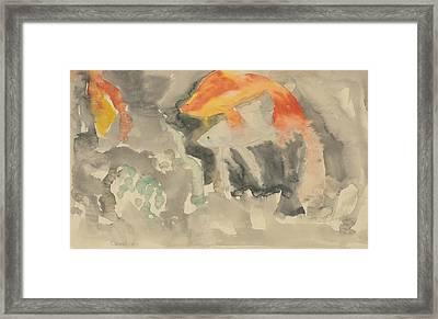 Fish Series, No. 5 Framed Print
