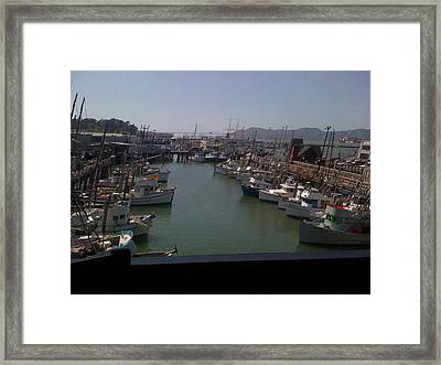 Framed Print featuring the photograph Fisherman's Whraft by Fanny Diaz
