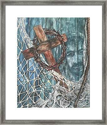 Fishers Of Men Framed Print