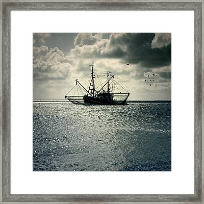Fishing Boat Framed Print by Joana Kruse