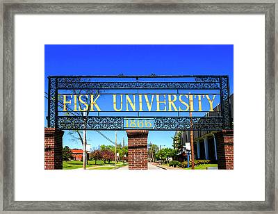 Fisk University Nashville Framed Print