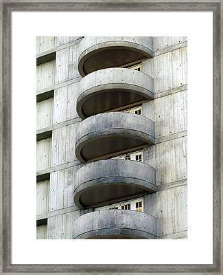 Five Floors Up Framed Print