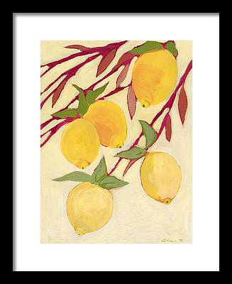 Lemon Framed Prints