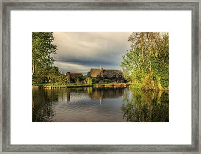 Flatford Mill Framed Print by Martin Newman