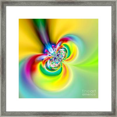 Flexibility 53aaa Framed Print by Rolf Bertram