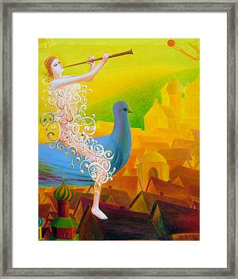Flight Of The Soul Framed Print