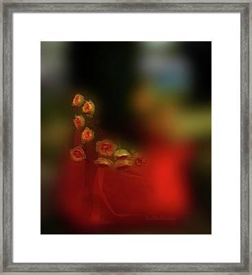 Floral Art 8 Framed Print