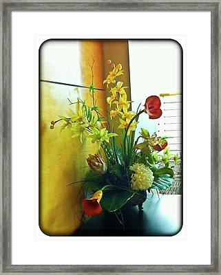 Floral Bouquet Framed Print by Francesco Roncone