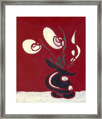 Floral Xvii Framed Print