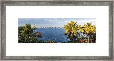 Florida Keys Framed Print