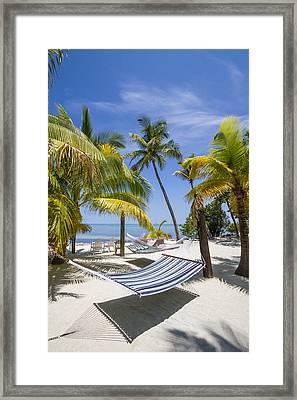 Florida Keys Heavenly Place Framed Print