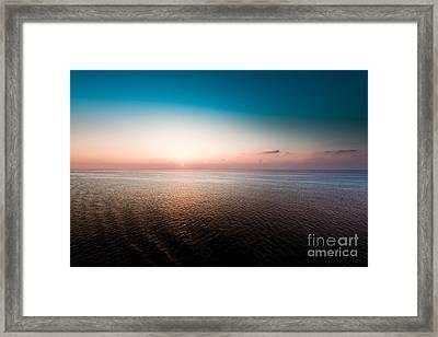 Florida Sunset Framed Print by Ryan Kelly