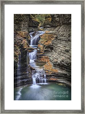 Flow Gently Framed Print by Evelina Kremsdorf