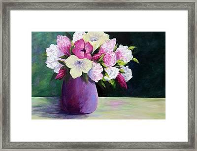 Floral Delight Framed Print