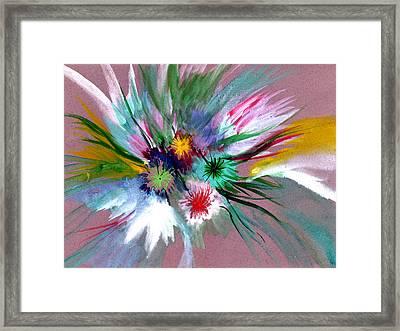 Flowers Framed Print by Anil Nene