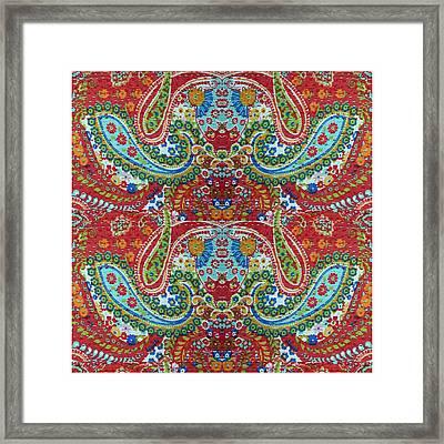 Flying Bear India Colors Imagination Borrowed From Coral Reef Vegitation Under Sea World Cretures Fr Framed Print