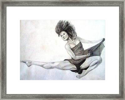 Flying Framed Print by Gary Stull