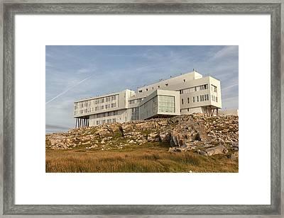 Fogo Island Inn Framed Print